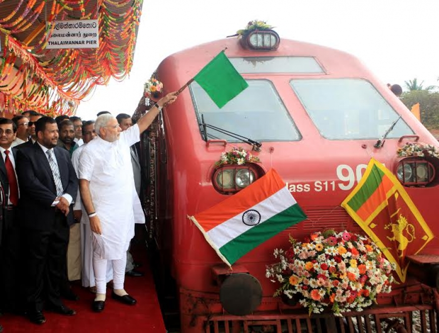 Modi flags off Talaimannar train service