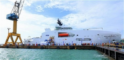 Colombo Dockyard delivers the largest ship constructed in Sri Lanka