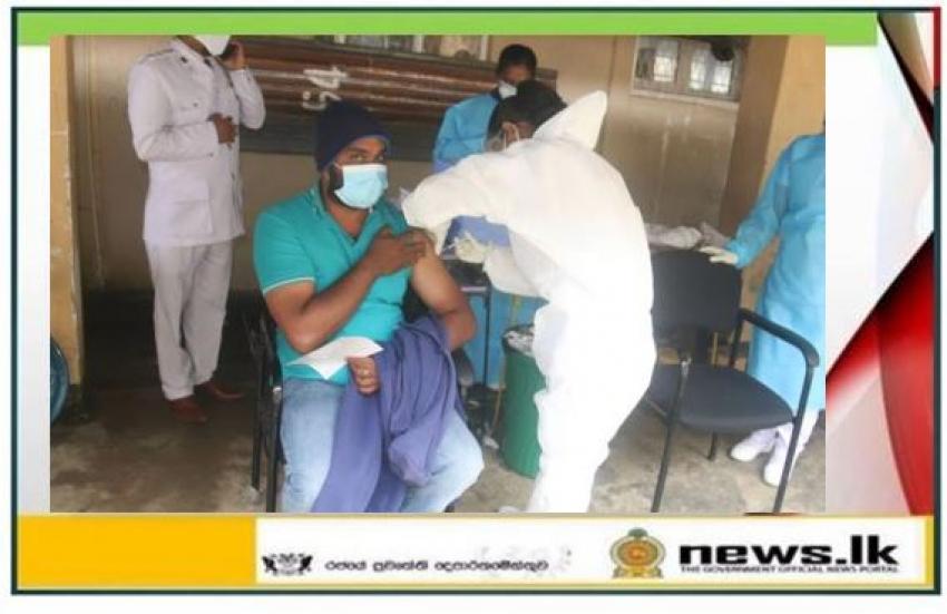 Covid-19 vaccination program begins in Nuwara Eliya District