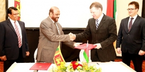 Historic Lanka-Belarus economic pact inked in Colombo