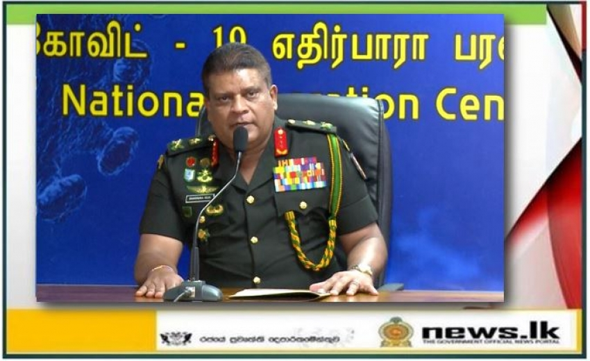 Another 321 to be released from quarantine centres – Lt. Gen. Shavendra Silva