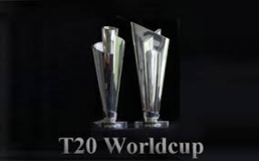 World Twenty20 Trophy on display at Galle Face today