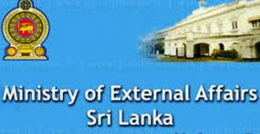 MEDIA STATEMENT BY THE MINISTRY OF EXTERNAL AFFAIRS