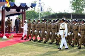 Passing Out Parade of 839 Police Officers