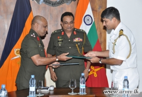 Joint Sri Lanka-India Military Exercise 'Mithra Shakthi'  At Uva-Kudaoya