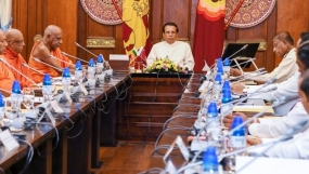 President emphasizes importance of Dhamma education to the children