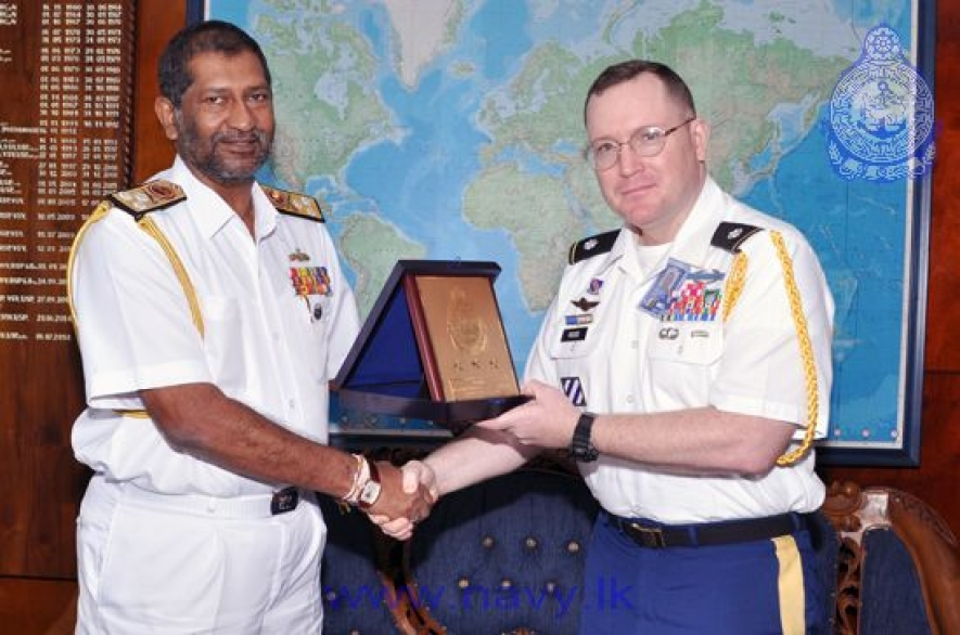 US  Defence Attaché calls on Navy Commander
