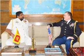 US Defence Attaché calls on Commander of the Navy