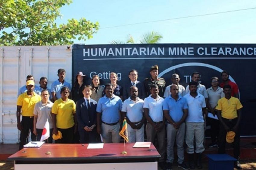Japan grants USD 1.2 Ml for demining activities