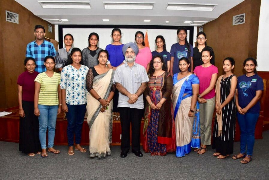 Scholarships for 18 Lankan students to study in India