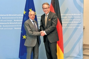 Minister meets German Vice Minister for Economic Affairs