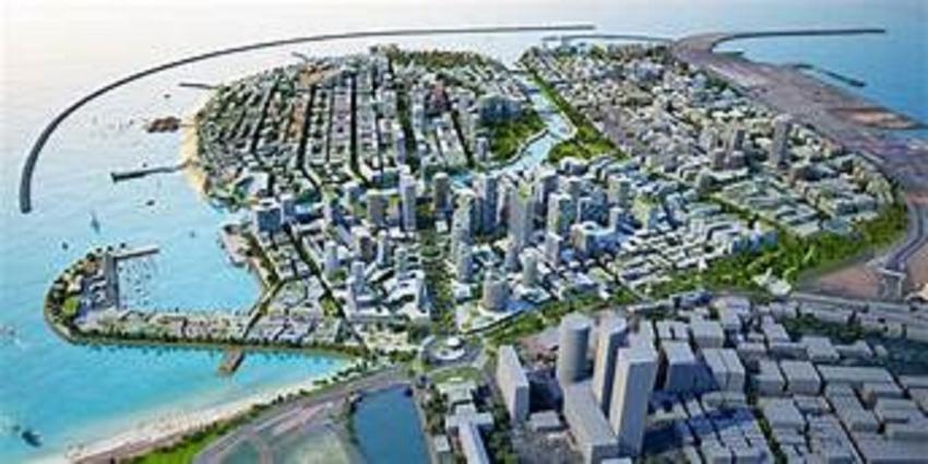 Port city declared as an urban development area under UDA
