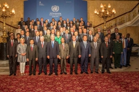 Defense State Minister participate in the UN Peace Keeping conference in London
