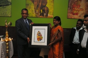 Ambassador Prasad Kariyawasam inaugurates Sri Lankan Restaurant in Washington, DC