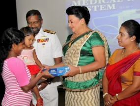 First Lady hands over Thalassemia Drug Infusion Systems to Govt. Hospitals