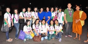 Mihin Lanka hosts its first group of Leisure Travellers from Medan