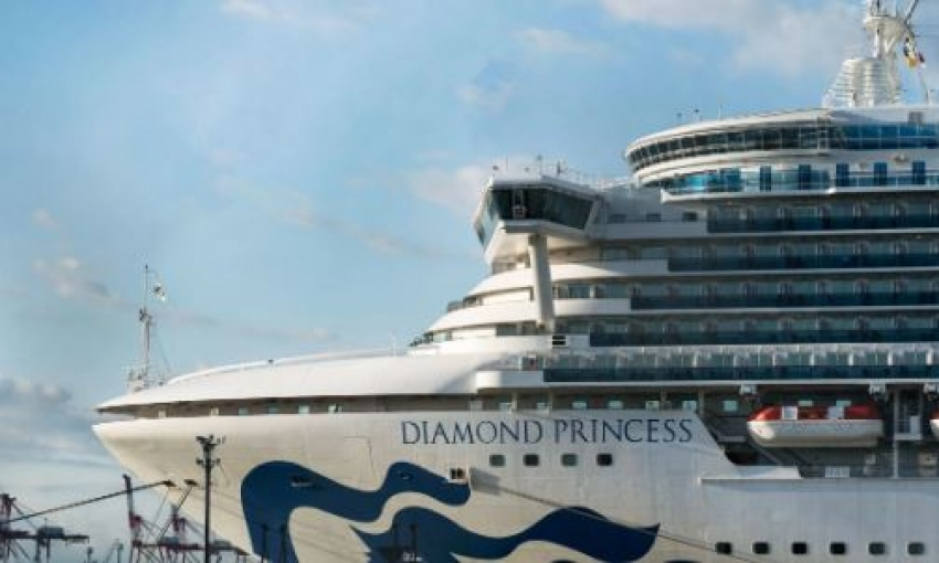 Two Sri Lankan crew members safe on board Diamond Princess