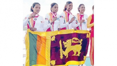 Women rowers win big for Sri Lanka's maiden Silver