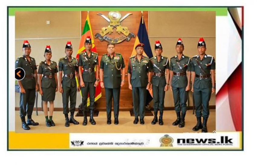SLMA Officer Cadets Interact with Army Chief & Collect Facts for Final Thesis
