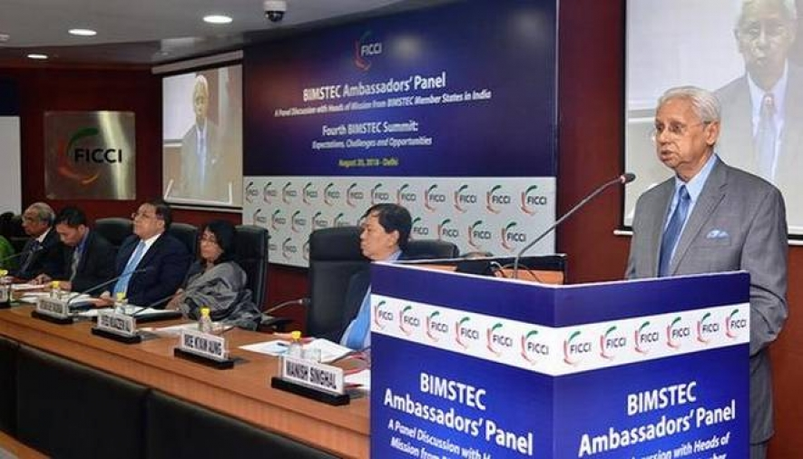 calls for FTA within BIMSTEC member countries