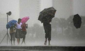 Heavy showers in coming days says Met Department