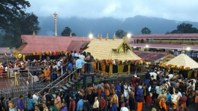 Sabarimala temple: India court to review ruling on women's entry