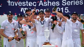 Ashes 2015: England lose fifth Test by innings but win series 3-2