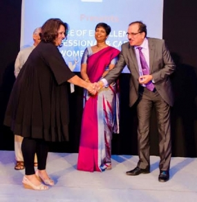 Outstanding Business Entrepreneur Award for NiluAnverally