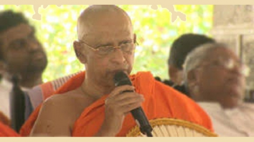 President can bring peace, happiness to all communities - Anunayaka Thera