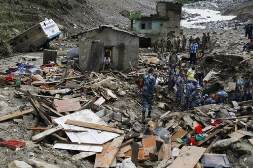 Nepal flood toll hits 101