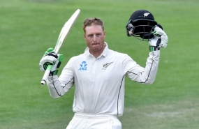 Martin Guptill gives N.Zealand solid start in first Sri Lanka Test
