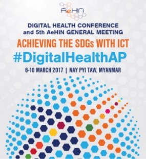 Health Minister attends Digital Health Conference in Myanmar