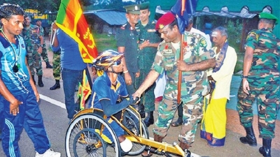 Grit drives Cpl Karunaratne on peace mission