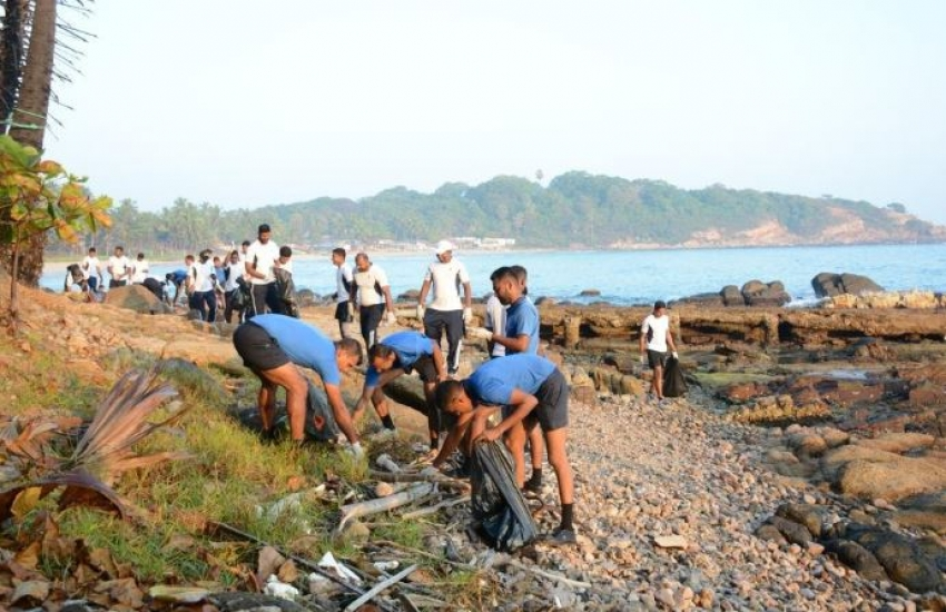 Navy contributes in conservation of coastal environment