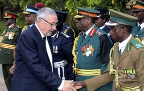 White Zambian named acting president