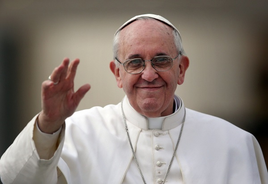 Pope to be here on Jan 13