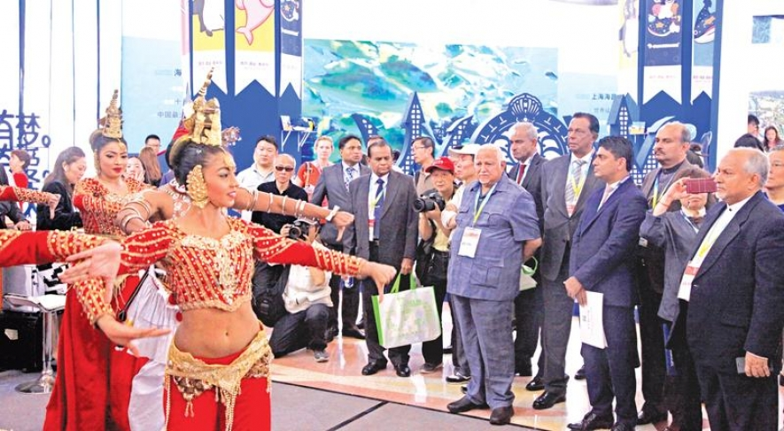LANKAN SPLENDOUR AT SHANGHAI TRAVEL FAIR