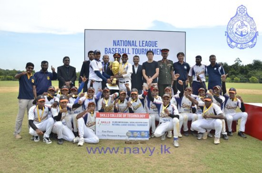 Navy emerged champions at National Baseball League Tournament 2015