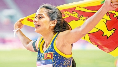 Vidusha – the Triple Jumper on a mission