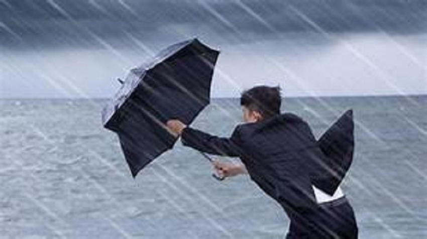 Rains and winds to enhance from 16th to 19th