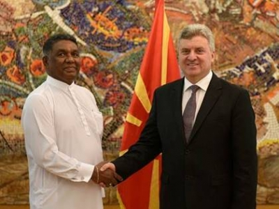 Macedonia seeks to intensify political dialogue with Sri Lanka