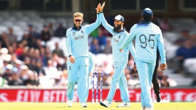 England expects as host nation launch WC party