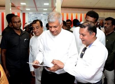 PM visited 'Enterprise Sri Lanka' Exhibition….