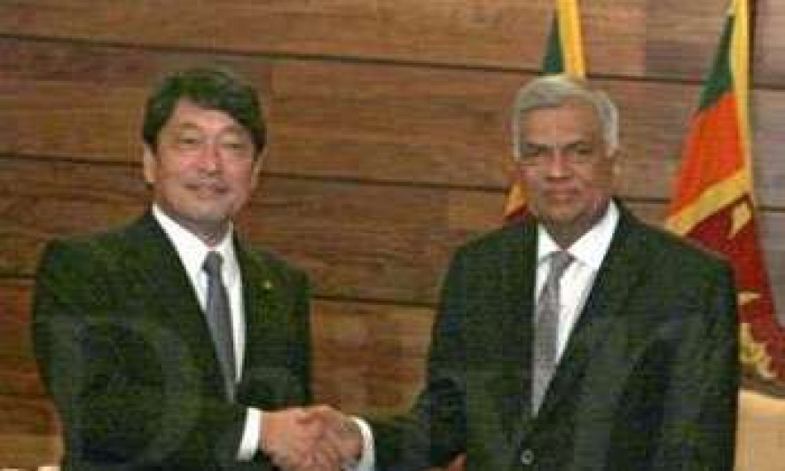 PM invites Japan to assist SL in port development