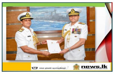 Rear Admiral Sumith Weerasinghe appointed as Chief of Staff of the Navy