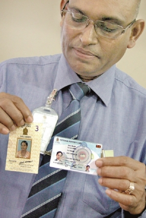 New National Identity Cards  to all by 2016