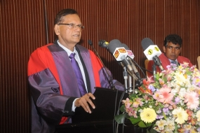 Prof. Peiris hails Government – University Collaboration for Economic Development