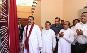 President opens two more Mahindodaya Laboratories in Badulla District