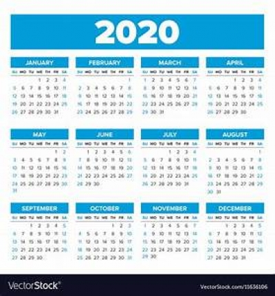 Public and Bank Holidays for 2020