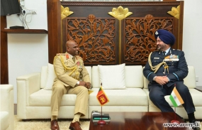 Indian Air Chief Calls on Army Commander